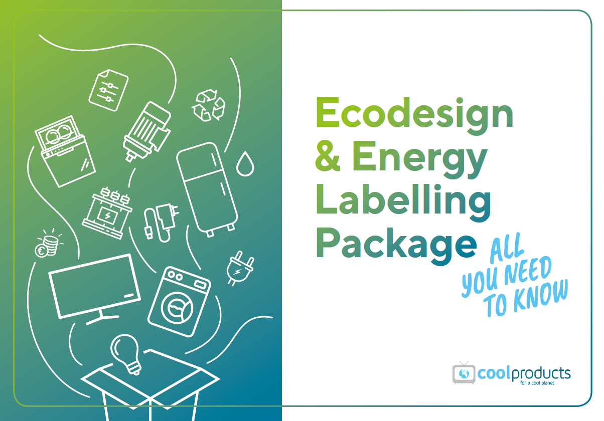 NEW Briefing: Ecodesign & Energy Labelling Package – All You Need To Know