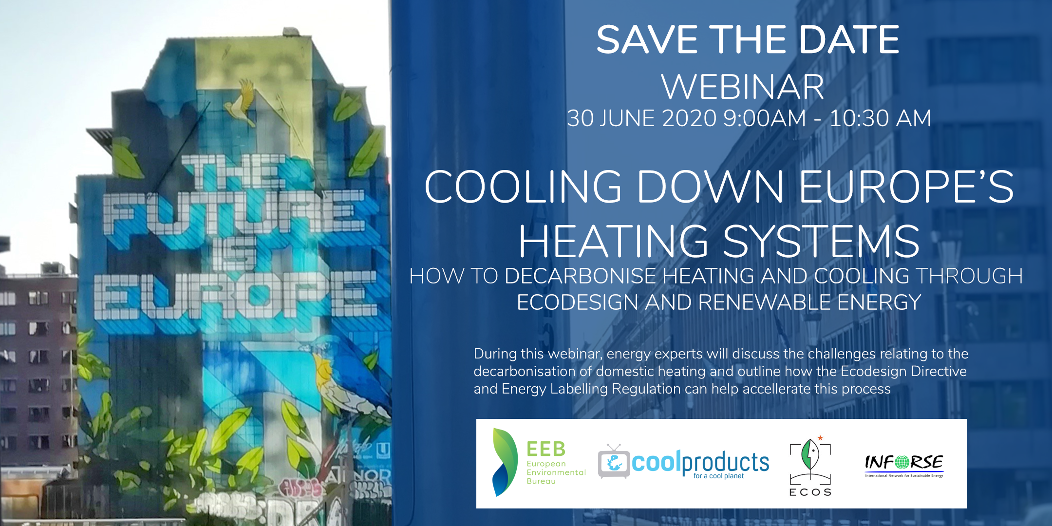 Webinar: Cooling down Europe's heating system