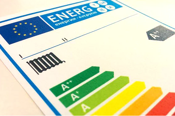 New energy labels in the boxes of TVs and kitchen appliances